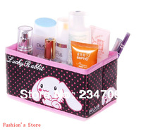 Lucky rabbit cosmetics receive a case,women bags,cosmetic bags,makeup case/bag,1 pcs/lot