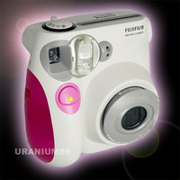 Fuji Fujifilm Instax Mini 7s Instant Film Photo Camera Pink blue Polaroid Strap