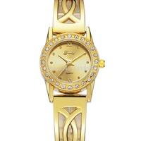 2013 Hot sale New Fashion wristwatches women dress quartz fashion luxury brand gold watch Free Shipping