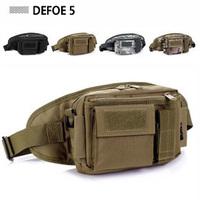 3 in 1 Money belt + Waist pack + Shoulder bag USA Military Heavy Duty Waterproof Advance Defense Ultra-light Range Tactical Gear
