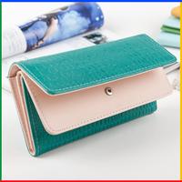 New design women wallets clutch purse luxury lady wallets stone pattern patchwork female brand women purse carteira feminina