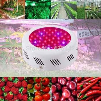 Fedex wholesale Freeshipping UFO 50w full spectrum led grow light uv ir for hydroponics growing system dropshipping