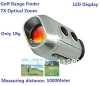 7x golf scope  Finder Golf Digital Range Finder Golf Training Tools Optic Telescope testing distance 1000yard measure