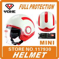 Protective Gears>Helmets MINI motorcycle helmet motorbike scooter capacete motorcycle casco motorcycle capacetes motociclistas