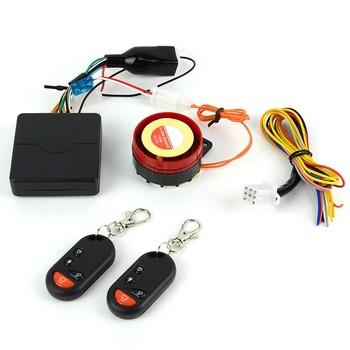 2014 New Motorcycle Bike Anti-theft Security Alarm System Remote Control Engine Start 12V Smart Alarm Powerful 125db B2 14744