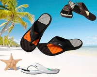 Hot Sale New 2014 Summer Shoes Flat Sandals Men Flip Flops Men Fashion Eva Massage Beach Slippers Shoes Flats Sandalias 41 - 45