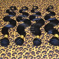 100% Unprocessed Virgin Brazilian Hair 6pcs Lot Body Wave Grade 5A Remy Human Hair Bundles Mix Length Hair Weave Free Shipping