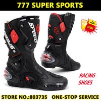 Hot Sales100% Genuine Pro-Biker B001  Motorcycle Shoe Sport Motocross Cycling Boots Off-Road Racing Gears  EUR 40-45