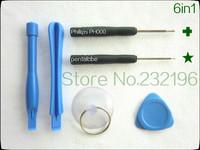 100set (600pcs) Hand Tools Phone professional repair tool set kit 6in1, screwdriver + pry tool iphone4s 5s Repair