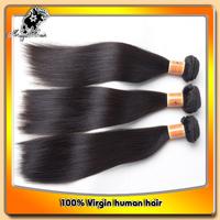 "High Grade hair 3pcs/lot brazilian virgin hair straight available length from 10""-32"" virgin brazilian hair extension"