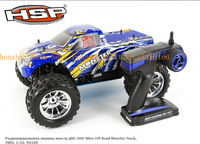 TOYS HSP Baja 1/10th Scale Nitro Off Road Monster Truck  with 18CXP Engine 94188 RC HOBBY Car+2.4G Radio Control