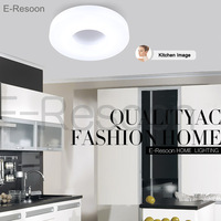Fashion Brief Led Ceiling Light Dia 350mm,Aluminum & Acrylic High Quality AC85V~265V,Warm/Cool White,Bedroom/kitchen/Corridor