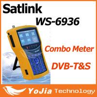 Original Satlink WS-6936 DVB-T&DVB-S Combo Meter with Spectrum Meter Satlink 6936  ws6936 meter 6936 finder free shipping