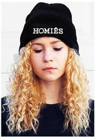 Cheap HOMIES Style Fashion Men Women Skull Beanie Hat Winter Fall Hip hop Warm Cap,HT0115