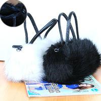 2015 Winter Autumn new fashion women fur handbag Fur shoulder bag mini messenger bag free shipping