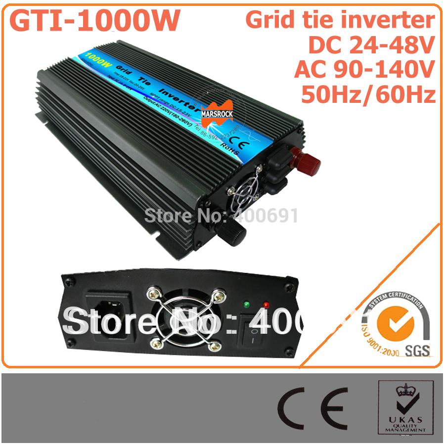 Преобразователь MARSROCK 1000W 36V Tie , 22/45v DC AC 90 140V 1000/1200 36V PV GTI1000W