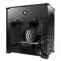 World's Most Coolest DIY Desktop FDM 3D Printers Dual Extruders the build size is 23*15*15cm