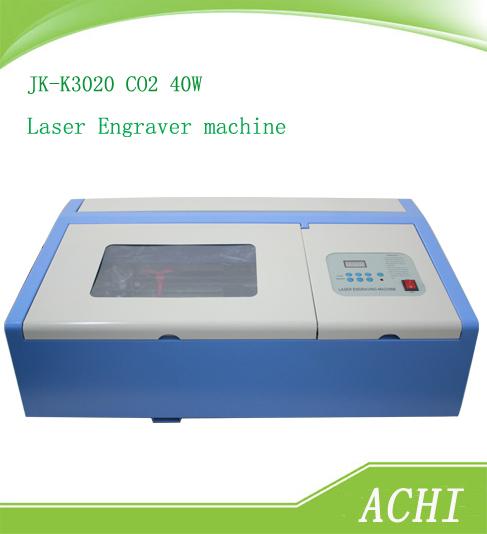 Jk-k3020 laser graviermaschine laser co2 40w lasergravierer und schneidemaschine
