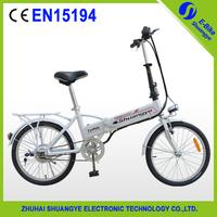 """mini 20"""" folding ebike lady electric bike"""