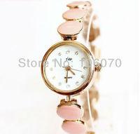 Freeshipping Relojes New Fashion Luxury Brand JW Quartz Analog Rose Golden Rhinestone Watches Women Dress Watch White/Pink/Black