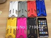 free shiping Arachnophobia Durable X design Aluminium Metal Bumper Cover Case for iphone 5