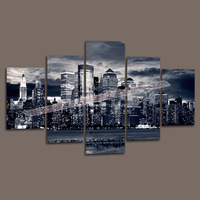 Canvas Painting 5 Piece Wall Decor Canvas Home Decoration Wall Art Pictures Landscape Large Canvas Art Cheap -- Modern Painting