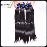 4 pcs lot Brazilian virgin silky straight hair,Unprocessed 100% human weave hair,AAAAA+Grade,New remy hair products:100g/pcs