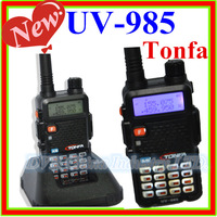 8W 128CH VHF 136-174MHz & UHF400-470MHz Two-Way Radio TONFA UV-985 VOX DIMF Walkie Talkie Dual band Interphone Transceiver