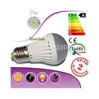 LED bulb lamp lights E27 3W 4W 5W  6W 7W 9w 10w 12w 15w 25w 30w 50w 2835SMD Cold white/warm white AC220V 230v 240v Free shipping