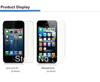 Premium Tempered Glass Mobile Phone Screen Protector for IPHONE4 4S 5 5S 5C  0.4mm+4 layers+9H water/oil/fingerproof