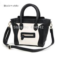 Classic vintage Smiley bag mini  women's leather handbag women messenger bags kids handbag Smiley totes desigual luxury brand