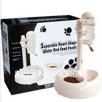 NEW ARRIVEL Senior pet water dispenser lift vertical pet drinking fountains dog bowl