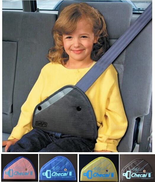 Safe fit car safety belt adjust device baby child protector seat belt positioner children Car Safe belt small safe belt 2-5 year(China (Mainland))