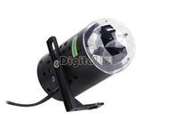 US Plug New RGB 3W Crystal Magic Ball Laser Stage Lighting For Party Disco DJ Bar Bulb Lighting Show 15540