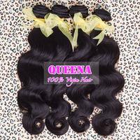 "Virgin indian virgin hair natural wave body wave hair 3pcs lot,8"" to 30"", human hair extension unprocessed virgin hair"