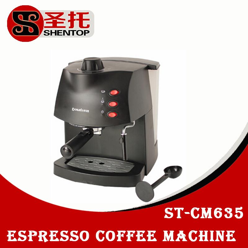Coffee Maker Pump Pressure : SHENTOP Espresso Coffee Machine with Milk Foam Maker semi automatic Coffee Machine coffee Pump ...