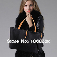 2013 Hot Fashion Women's Classic Shoulder Bag Ladies Tote Bag Handbag PU leather(China (Mainland))