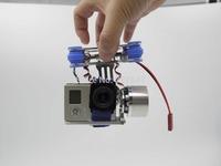 DJI Phantom Gopro 2 3 Metal Brushless Gimbal Camera w/Motors & Controller RTF