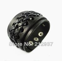 Fashion leather string antique punk bracelet man new korean leather bracelets best selling S021