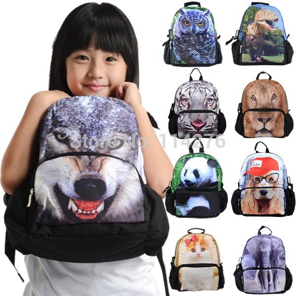 Schüler schultasche kinder jungen reisetasche galaxy hipster mode 3d Wolf druck rucksack, bbp109s