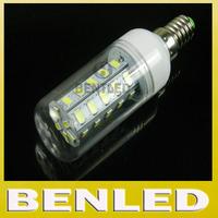 High quality E14 5730 Warm white/ white 220v New arrival SMD 5730 12W E14 base LED bulb lamp,36 leds crystal chandelier lighting