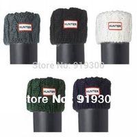 High Quality Brand New Original H Rainboots Knitted Long Socks Womens Autumn Winter Warm Socks For Knee High Rain Boots  #TS9