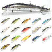 Fishing Lure Minnow Crankbait 1/2 oz Hard Bait Fresh Water Shallow Water Bass Walleye Crappie Minnow Fishing Tackle M509K2