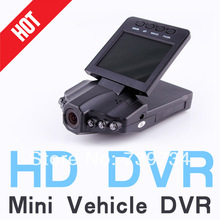"Clearance sale 2.5"" HD Car DVR IR Night Version 270 Degree Video Camera Road Recorder New Color(China (Mainland))"