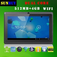 Dual core Tablet PC Multi-touch capacitive screen 7 inch Android 4.2 1.5GHz RAM DDR3 512MB 4GB/12GB/20GB camera USB 3G WIFI