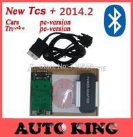 2014 DHL freeship! 2014.2 Keygen ! Bluetooth BLACK TCS CDP PRO PLUS + Led car Diagnostic Tool LOWEST PRICE Cars / Trucks 3 in 1