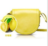 2013 new shoulder bag Crossbody Bag Candy colored genuine leather bags women handbag  women bag