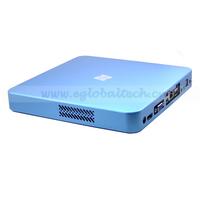 SPDIP Fan Mini Linux PC XBMC Software Smooth Alloy ITX Case Thin Client PC HD Video Small Desktop Computer with AMD E350 CPU