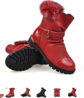 Snow Children Boots 2014 new For Girls boysFashion Winter  Skidproof Kids shoesFree Shipping#057