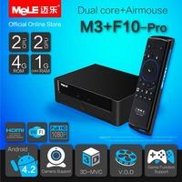 Dual Core Mini PC Android Box Android 4.2 MeLE M3 Cortex A7 1GB RAM 4GB ROM 1080P HDMI VGA AV RCA Port WiFi LAN + MeLE F10 Pro